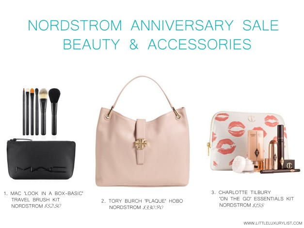 Nordstrom Anniversary sale beauty and accessories