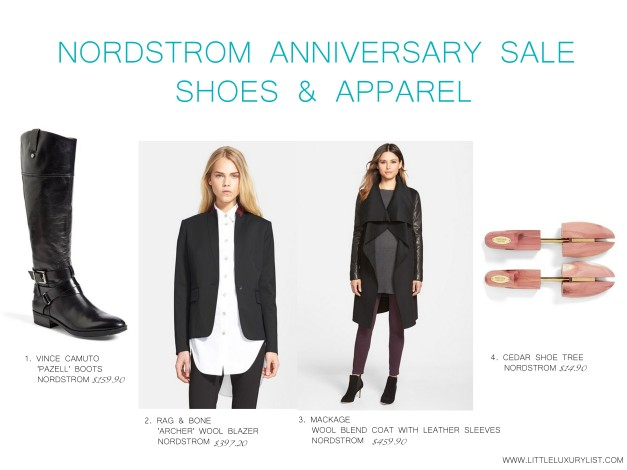 Nordstrom Anniversary sale shoes and apparel