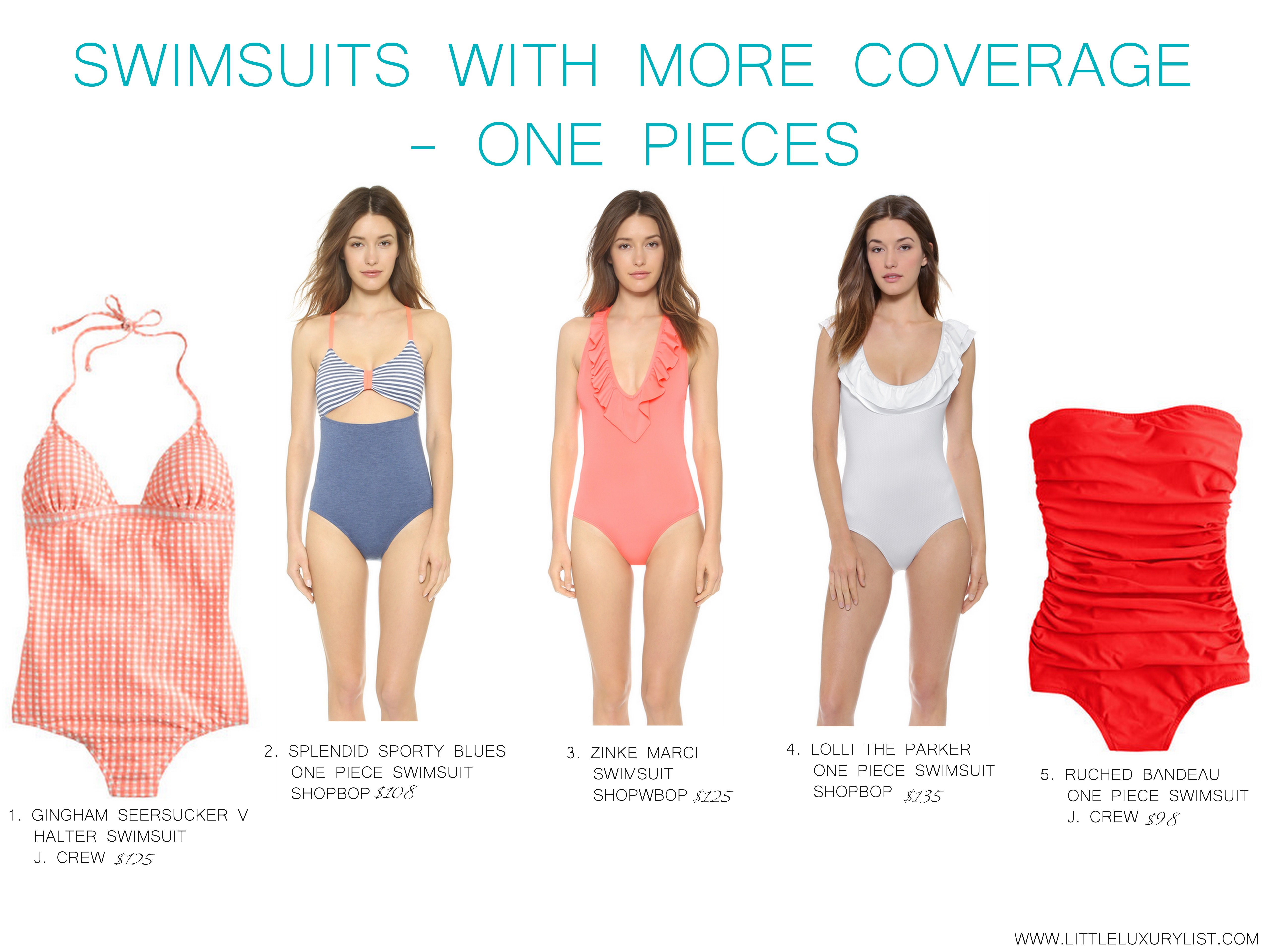 839061f677c Fashion Highlight: Stunning Swimsuits with more coverage