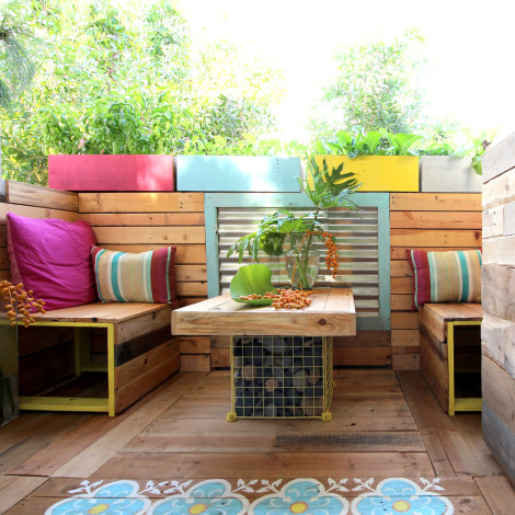 patio Ananda Piece of Rainbow blog