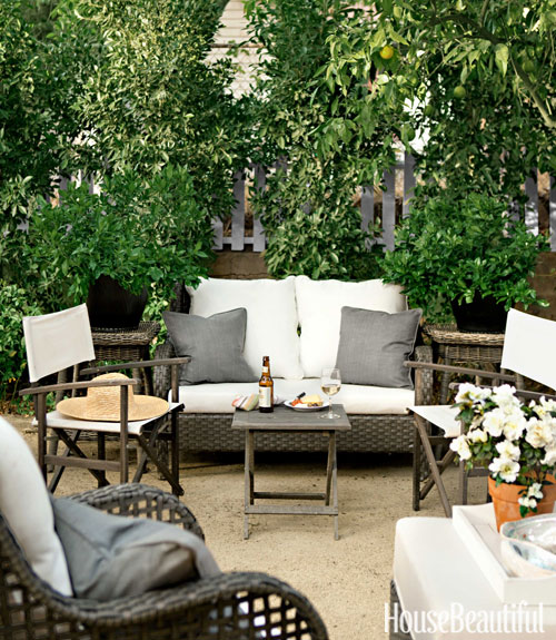 ... Patio Tobi Tobin Hollywood Home In House Beautiful ...