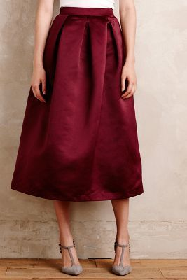 Maeve Alcina midi ball skirt