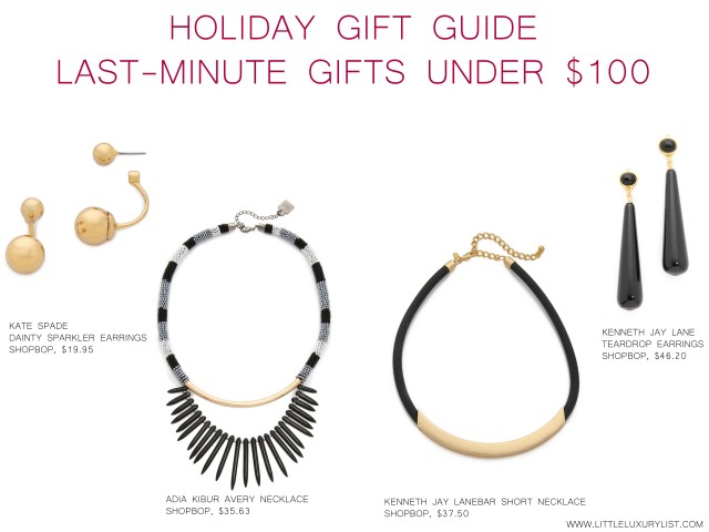 Holiday Gift Guide Last Minute Gifts by little luxury list