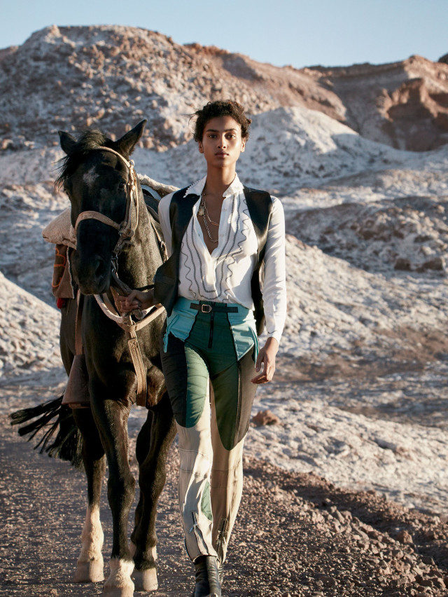 Imaan Hammam by Jamie Hawkesworth VOGUE JANUARY 2016