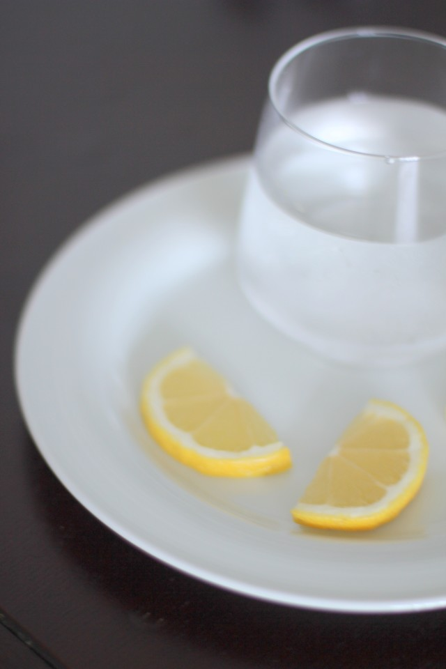 Lemon water benefits top side by little luxury list