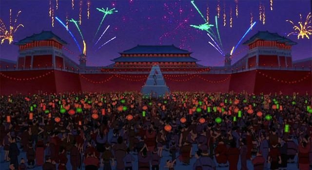 disneyreallocations1- Mulan – Forbidden City, Beijing, China.