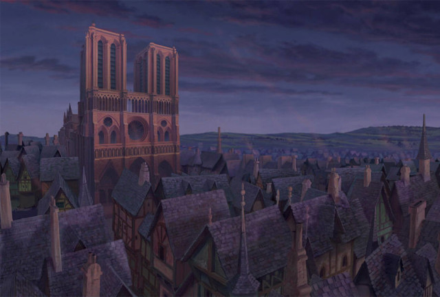 disneyreallocations1- The Hunchback Of Notre Dame – Notre Dame Cathedral, Paris, France.
