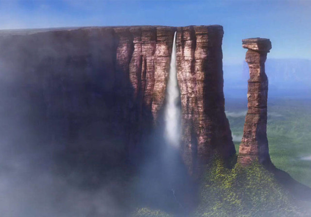 disneyreallocations1- Up – Angel Falls, Venezuela.