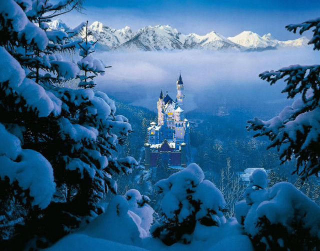 disneyreallocations1-real Sleeping Beauty – Neuschwanstein Castle, Bavaria, Germany