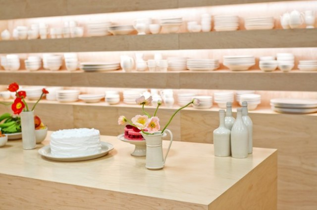 01-Kan Ito ceramics at mansur gavriel for Fall 2016