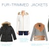 Fur trimmed jackets by little luxury list