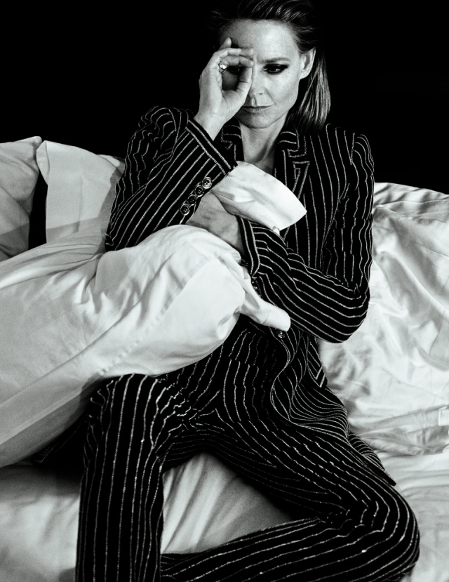 Jodie Foster in bed in Interview Magazine March 2016 shot by Mikael Jansson