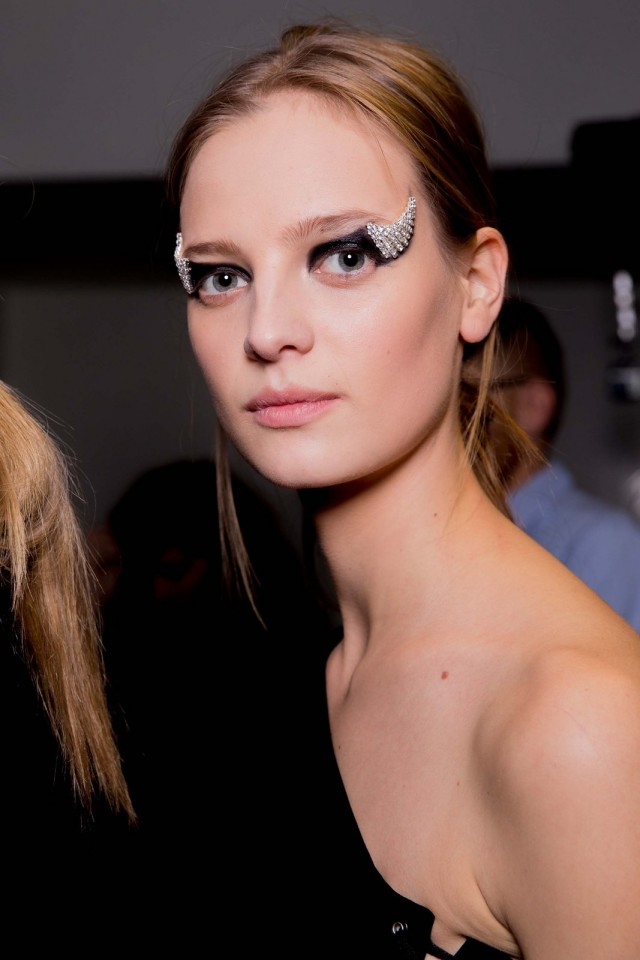 Kevin Tachman Paris Fashion Week Fall 2016 Read to Wear anthony-vaccarello makeup