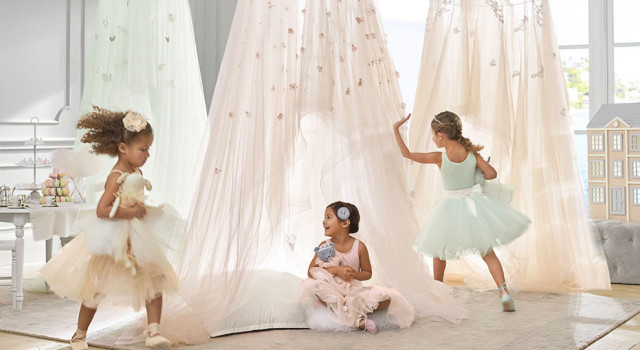 Monique Lhuillier and Pottery Barn Kids ballet playroom