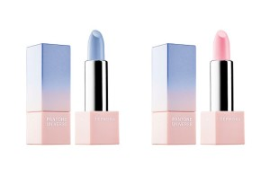 Sephora + Pantone Universe Rose Quartz and Serenity lipsticks