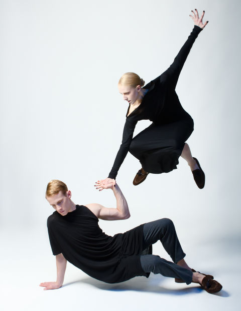 Kyle Froman Elle dancers jumping