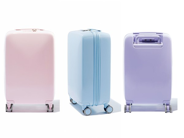 Raden blue lilac pink luggage