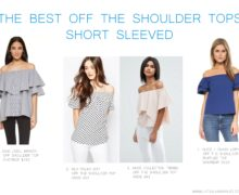 The best Off the shoulder tops