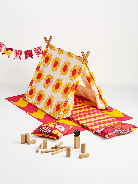The best Marimekko for Target pieces Melooni tent and towel