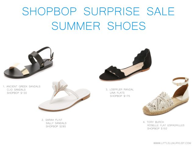 Shopbop surprise sale summer sandals