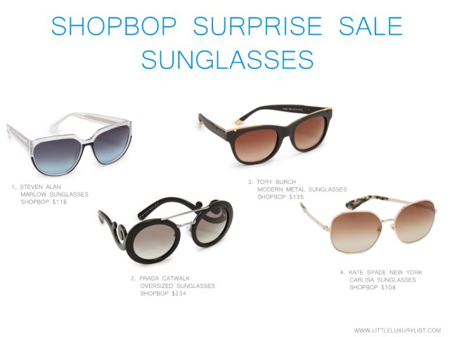 Shopbop surprise sale summer sunglasses
