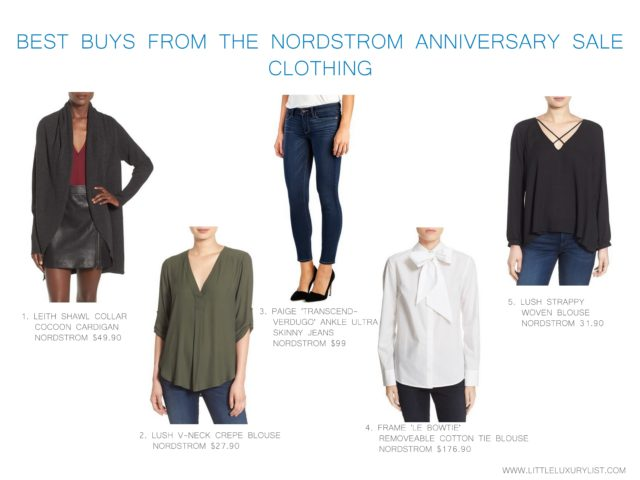 Best buys from the Nordstrom Anniversary sale - clothing - by little luxury list