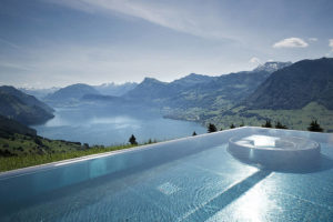 Extraordinary swimming pools around the world Cambrian Adelboden, Switzerland