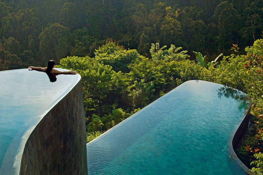 Extraordinary swimming pools around the world Hanging Gardens Ubud