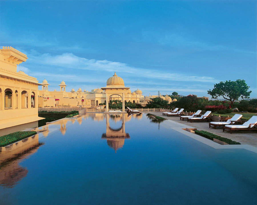 Extraordinary swimming pools around the world Oberoi Udaipur
