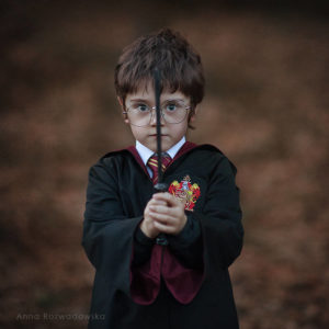 cute kids dressed as famous movie characters-Harry Potter 1