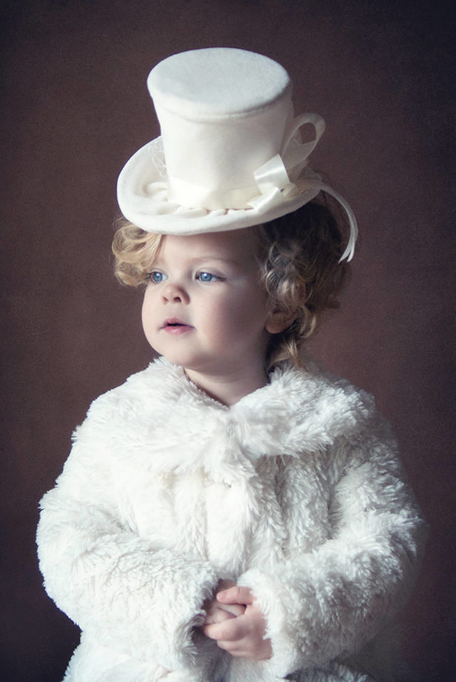 cute kids dressed as famous movie characters-white hat 1