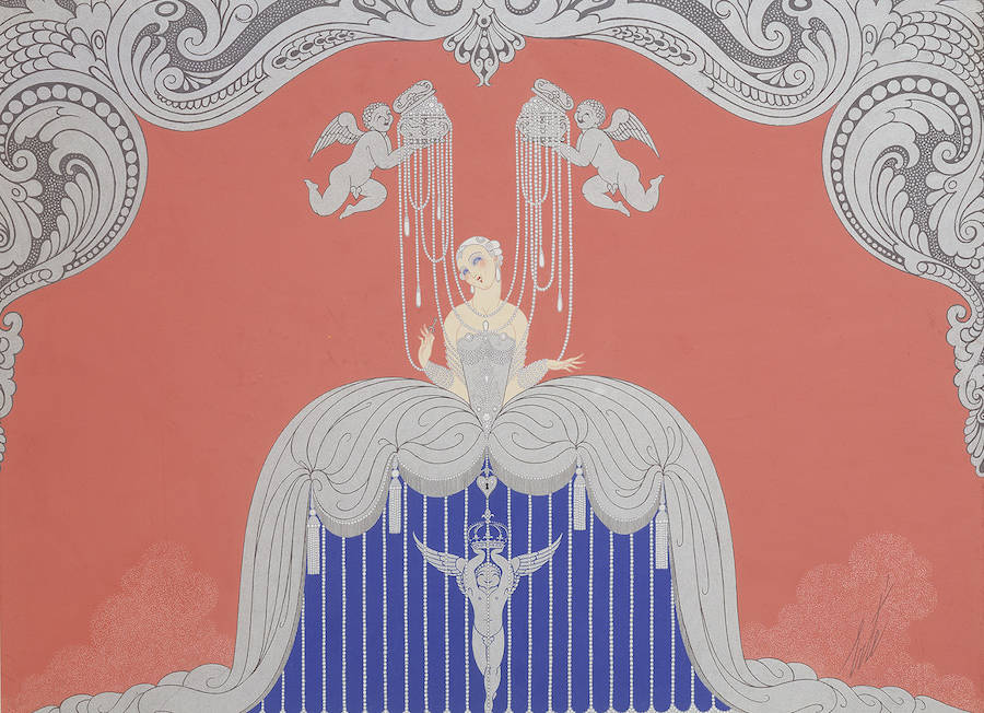 Erte Art Deco Paintings
