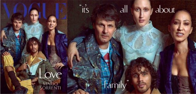family in vogue Italia June 2016  Pat Cleveland and family