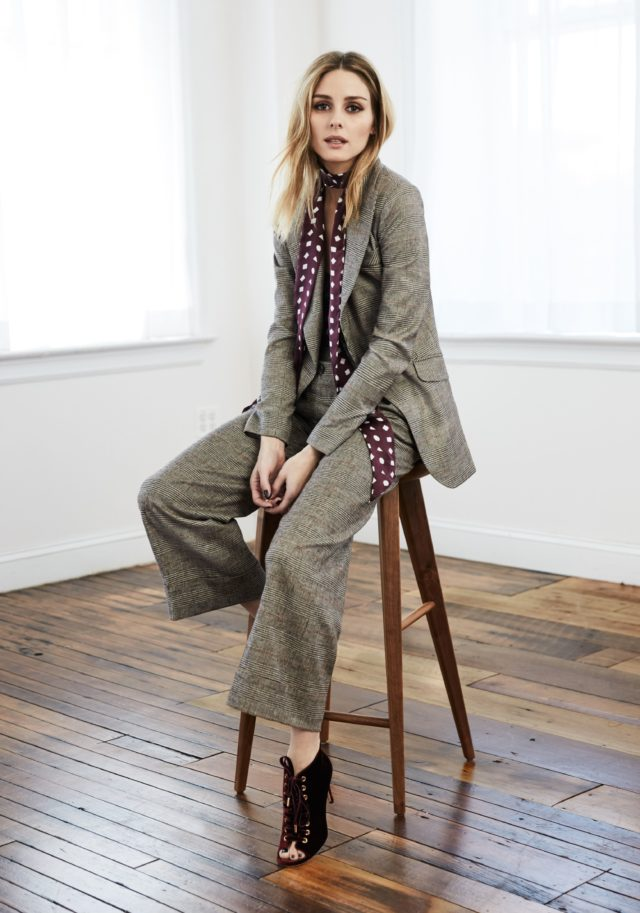 Olivia Palermo x Chelsea28 for Nordstrom menswear suit
