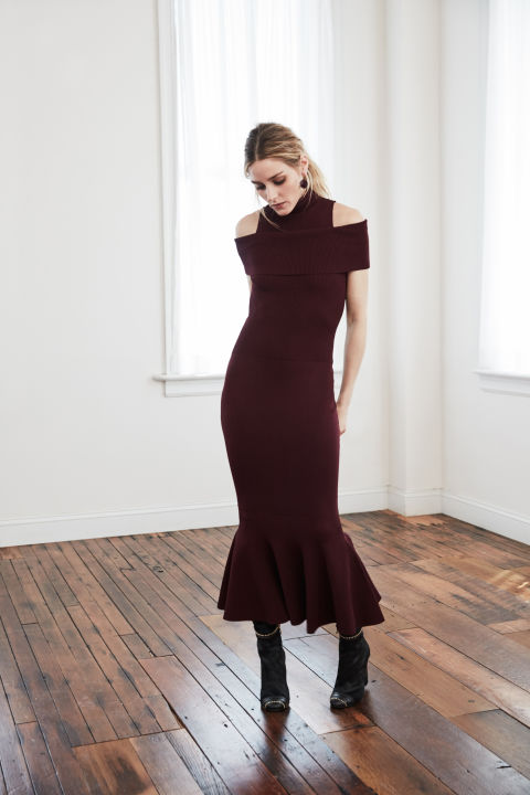 Olivia Palermo x Chelsea28 for Nordstrom bodycon dress