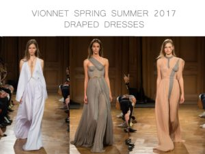 Vionnet Spring Summer 2016 draped dresses by little luxury list