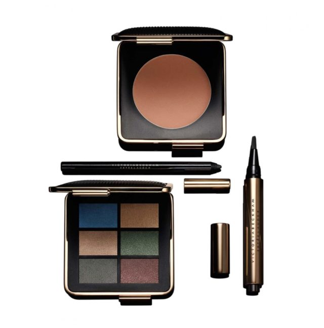 victoria beckham x estee lauder makeup new york look