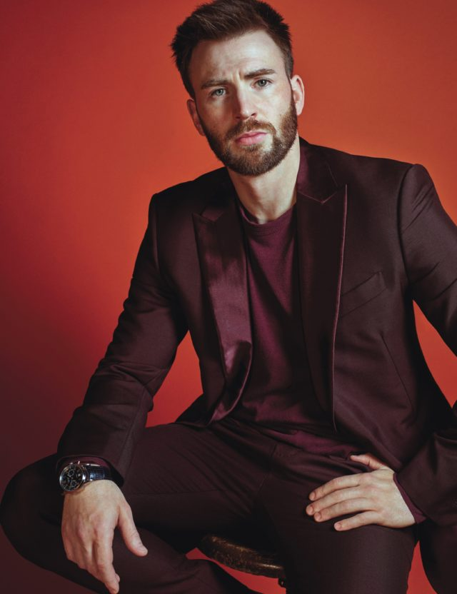 royals W Magazine October 2016 Chris Evans in Berluti by Mario Sorrenti