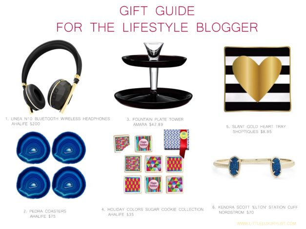 Gift Guide for the lifestyle blogger