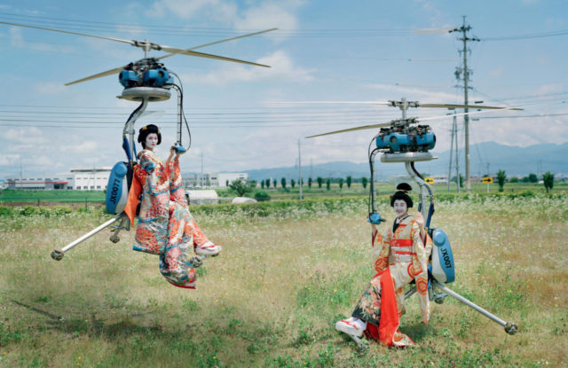 Tim Walker for UK Vogue December 2016 geishas