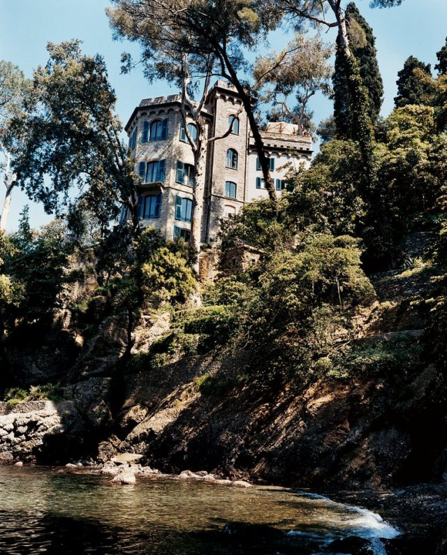 Dolce & Gabbana Portofino home on cliff