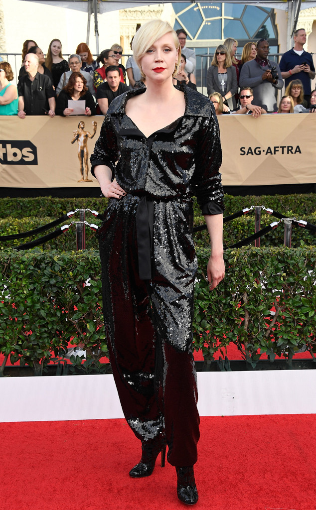 2017 SAG Awards Best Dressed - Gwendoline Christine in Vivienne Westwood