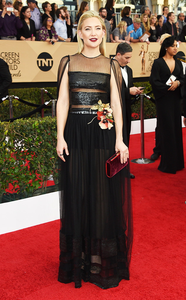 2017 SAG Awards Best Dressed - Kate Hudson in Dior