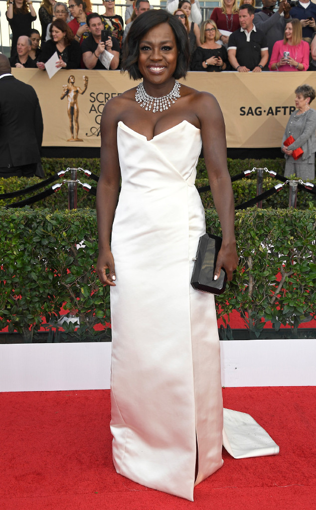 2017 SAG Awards Best Dressed - Viola Davis in Vivienne Westwood