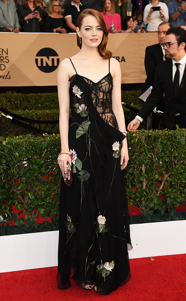 2017 SAG Awards best dressed - Emma Stone