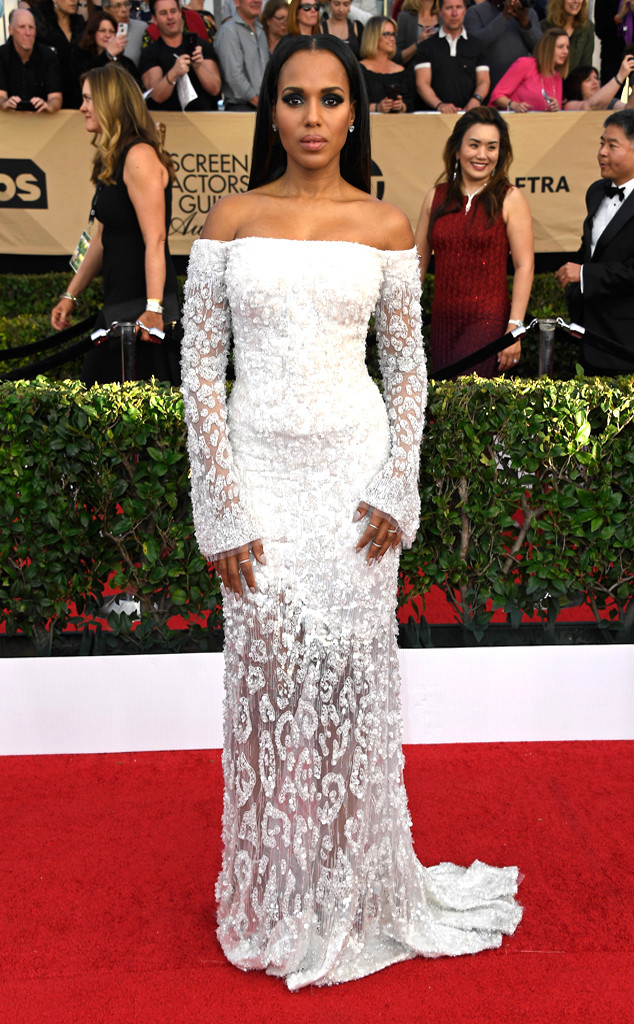 2017 SAG Awards best dressed - Kerry Washington