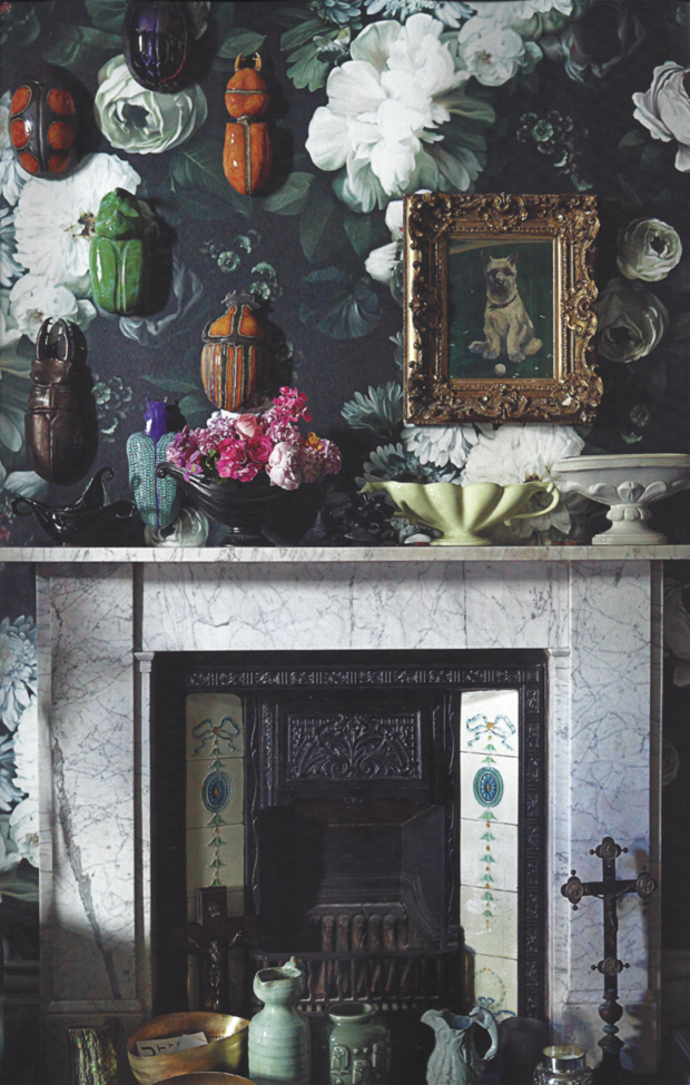 Ellie Cashman Floral Wallpaper Nikki Tibbles Home In Vogue Living Australia