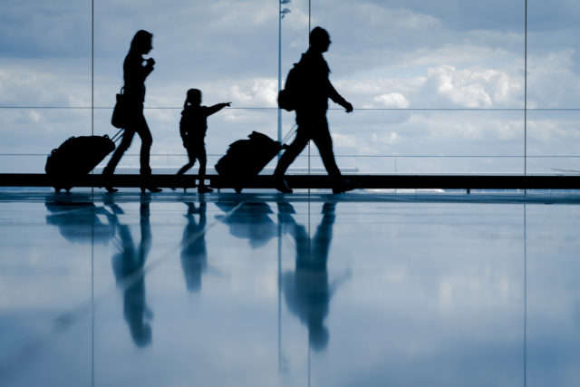 How to Survive a Long Haul trip with kids