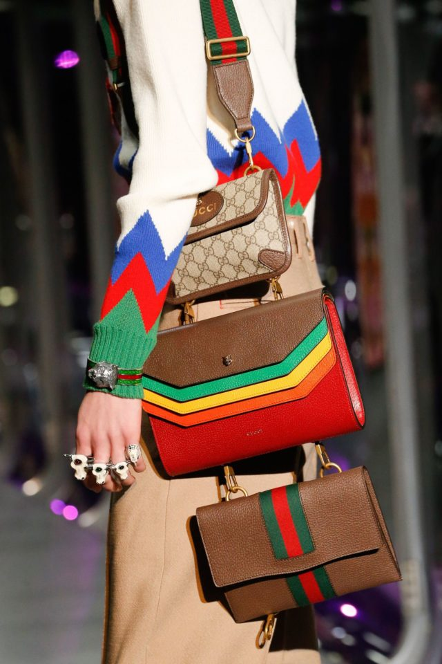 Gucci Autumn:Winter 2017 Ready-to-wear Details attached bags