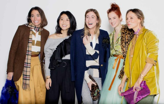 J.Crew NYFW Fall Winter 2017 group candid